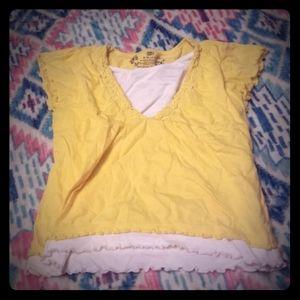 Girls' Yellow Faded Glory Blouse
